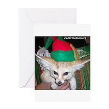Fennec Elf Greeting Card