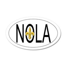 NOLA 35x21 Oval Wall Peel