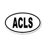 ACLS 20x12 Oval Wall Peel