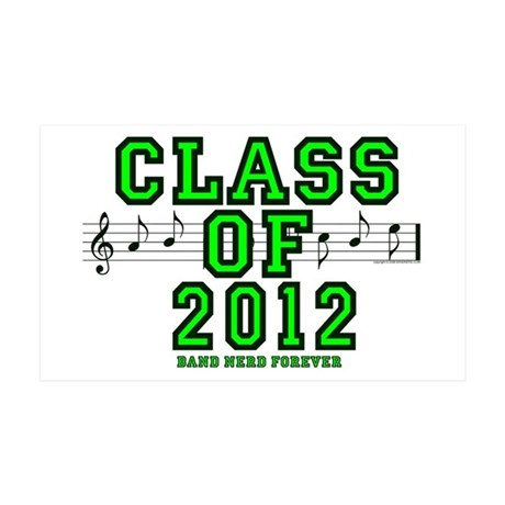 BandNerd: Class of 2012 35x21 Wall Peel