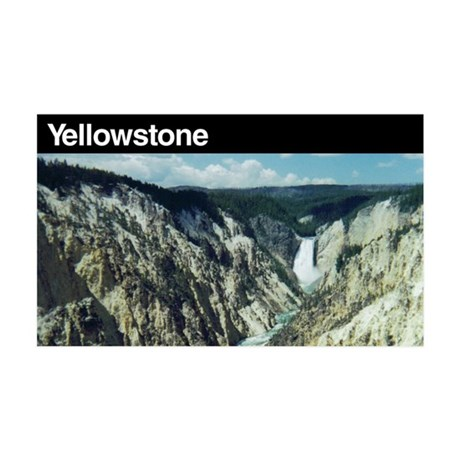 Yellowstone National Park 35x21 Wall Peel
