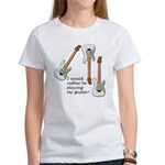 Playing My Guitar Women's T-Shirt