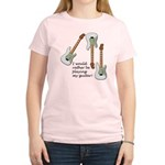 Playing My Guitar Women's Light T-Shirt