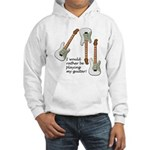 Playing My Guitar Hooded Sweatshirt