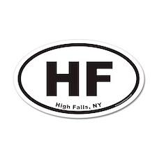 High Falls HF Euro 20x12 Oval Wall Peel