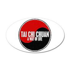 TAI CHI CHUAN Way Of Life Yin Yang Wall Decal