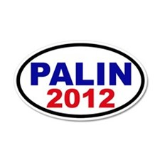 Palin 2012 20x12 Oval Wall Peel