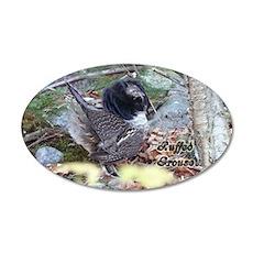 Male Partridge 20x12 Oval Wall Peel
