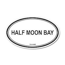 Half Moon Bay oval 35x21 Oval Wall Peel
