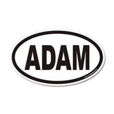 ADAM Euro 20x12 Oval Wall Peel