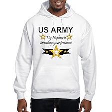 Army My Nephew is defending Hoodie