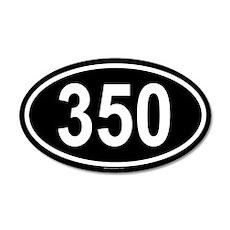 350 20x12 Oval Wall Peel