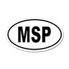 MSP 20x12 Oval Wall Peel