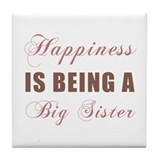 Big Sister (Happiness) Tile Coaster