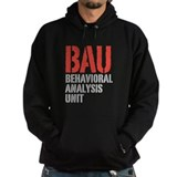 BAU Behavioral Analysis Unit Criminal Minds Hoody