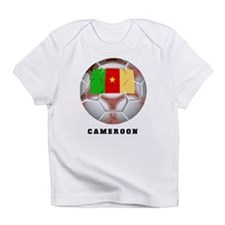 Cameroon soccer Creeper Infant T-Shirt