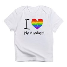 I Love My Aunties! Creeper Infant T-Shirt