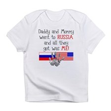 Russian Adoption (Parents) Infant T-Shirt