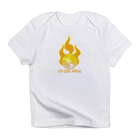 Stop Global Warming Creeper Infant T-Shirt