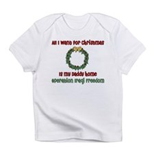 OIF Christmas Daddy Home Creeper Infant T-Shirt