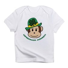 Leprechaun Monkey Infant T-Shirt