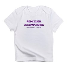 """Remission Accomplished"" Creeper Infant T-Shirt"
