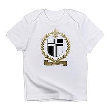 AUCOIN Family Crest Creeper Infant T-Shirt