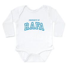 Property of Rafa Long Sleeve Infant Bodysuit