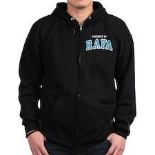 Property of Rafa Zip Hoody