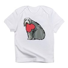 Beardie with Heart Infant T-Shirt