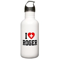 I Love Roger Water Bottle