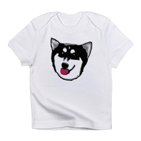 Happy Kayak Husky Creeper Infant T-Shirt