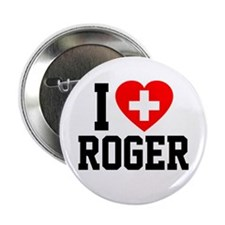 "I Love Roger 2.25"" Button"