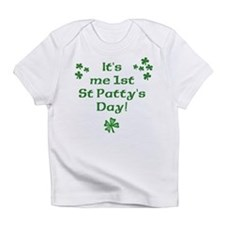 Cute Baby's first st patty's day Infant T-Shirt