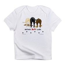 Labrador Butts with Sticks/Balls Creeper Infant T-
