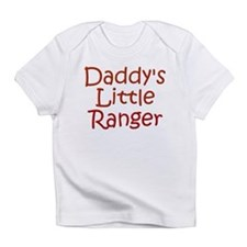 Daddy's Little Ranger Creeper Infant T-Shirt