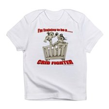 Training to be a Crib Fighter Infant T-Shirt