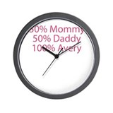 100% Avery Wall Clock