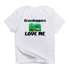 Grasshoppers Love Me Infant T-Shirt