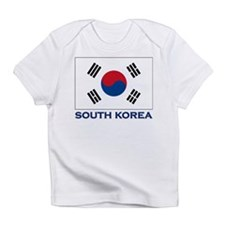 Flag of South Korea Creeper Infant T-Shirt