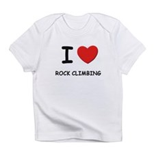 I love rock climbing Infant T-Shirt