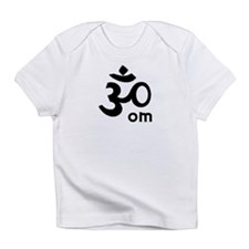Yoga OM Creeper (white) Infant T-Shirt