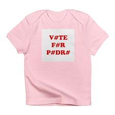 VOTE FOR PEDRO Creeper Infant T-Shirt