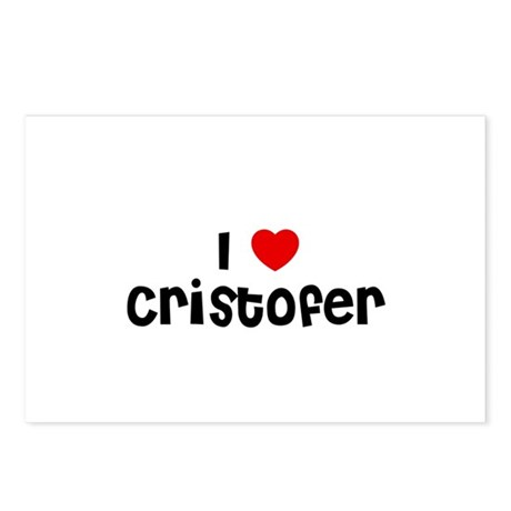 I * Cristofer Postcards (Package of 8)