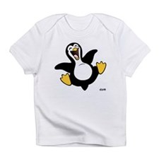 Happy Penguin Creeper Infant T-Shirt