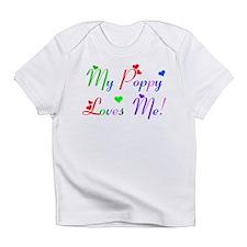 My Poppy Loves Me (des. #2) Infant T-Shirt