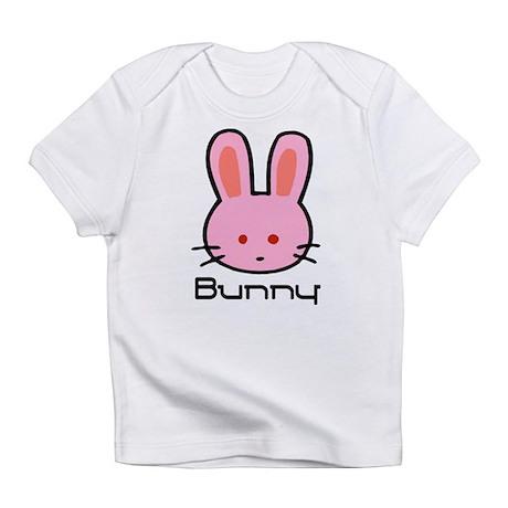 Pink Bunny Rabbit Creeper Infant T-Shirt