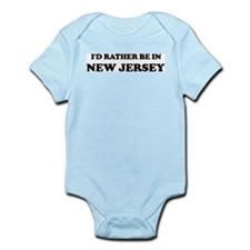 Rather be in New Jersey Infant Creeper