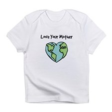 """Love Your Mother"" Creeper Infant T-Shirt"