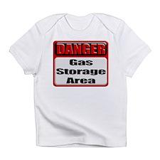 Gas Storage Area Creeper Infant T-Shirt